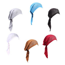 Women's Cancer Patient Chemo Ruffle Hat Beanie Scarf Turban Head Wrap Cap