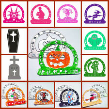 Crafts Cards Making Embossing Stencil Happy Halloween Scrapbooking Cutting Dies
