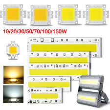 High Power Epistar Flood Light COB LED Bulb Bead Warm/Cool White Chip 110V 220V