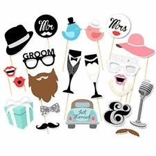 DIY Photo Booths Props Cute and Funny Team Bride To Be Wedding Party Decorations