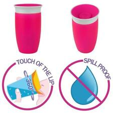 1Pcs Sippy Toddler Training Anti Spill Chew Proof Miracle 360 Degree Trainer Cup