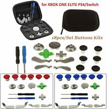 18PCS/Set Full Buttons Replace Kits for XBOX ONE ELITE/ PS4 / Switch Controller