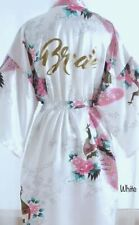 SATIN KIMONO ROBE FOR BRIDE, MOTHER OF THE BRIDE, BRIDESMAID, MAID OF HONOR