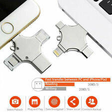 4 in 1 Compact USB Flash Drive OTG Memory For Vertex Impress Saturn