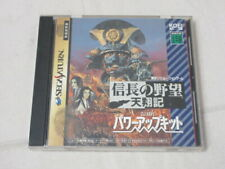 A1431 Sega Saturn Nobunaga no Yabou Tenshoki Power up kit Japan SS
