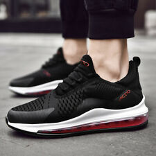 Men's Air Sole Sneakers High Elastic Basketball Running Shoes Breathable Sports