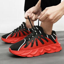 Men's Athletic Sneakers Breathable Sports Trail Running Walking Shoes Fashion