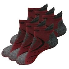 6 Pairs Mens No Show Low Cut Ankle Cotton Cushion Athletic Running Work Socks