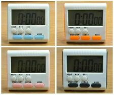 Large 24 Hours Kitchen Cooking Clock Alarm Digital LCD Count-Down Up Timer