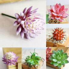 Artificial Succulent Plants Unpotted Fake Succulents Realistic Plastic  Home