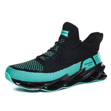 Mens Fashion Springblade Athletic Sneakers Breathable Sports Trail Running Shoes