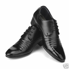 New Italian Style Dress Casual Loafers Mens Shoes Black