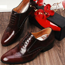 Designer Mens Leather Italian Classic Style Dress Shoes