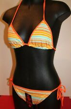 European Halter neck String Bikini in Various Colours and Patterns  sizes 10-16