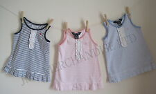SALE New Baby Girls Pretty stripe Ralph Lauren dress