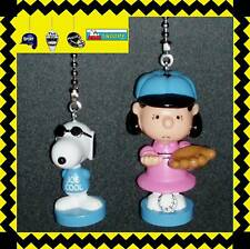 PEANUTS CHARACTERS CEILING FAN PULLS - CHOICE OF 2 FIGURES SNOOPY,LUCY, ETC...