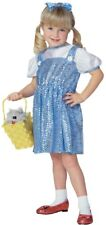 Girls Child The Wizard of OZ Sequin Dorothy Dress Costume