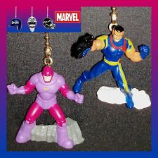 MARVEL COMICS–SUPERHEROES FIGURES–X–MEN CEILING FAN PULLS–SENTINEL, BISHOP, ETC.