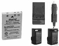 Battery + Charger for Nikon 4200 5200 5900 7900 P500 P520