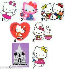 FUN Do-it-yourself Iron-onTransfers HELLO KITTY Designs