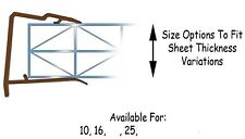 Sheet Closure for Polycarbonate 25mm x 2100mm