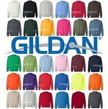 Gildan Heavy Blend Crewneck Sweatshirt 18000 S-XL NEW 50/50 cotton polyester