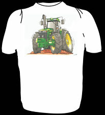 KOOLART TSHIRT - GREEN & YELLOW 8410 TRACTOR - 6 SIZES #3