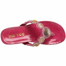Me Too Kids Claudia Shell Pink Sandals youth Girls NEW Flip Flops New Thong