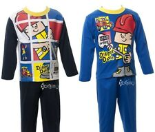 Baby Boys Digger Dave Long Pyjamas Ages 6-23 Months Nightwear