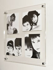 """Acrylic gloss wall 24x24"""" 10mm picture  FRAME FOR 4x 10x8"""" PHOTO PICTURE PIXI"""
