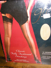 GIO FULLY FASHIONED STOCKINGS POINT HEEL