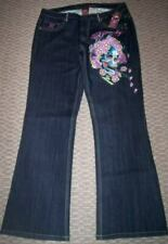 NWT PINK ED HARDY GHOST JEANS WOMEN'S PLUS 16 20 22 24