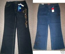 NWT WOMEN'S PLUS EMBROIDERED BOOT CUT JEANS 18 20 22