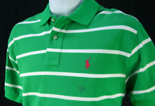 NWT Ralph Lauren Mens Stripe Mesh Polo Shirt  M L XL