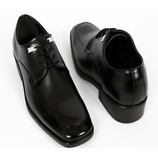 New Mens Oxford Dress Shoes Classic Simple Black