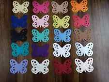 40 Large PEARLESCENT Butterfly Wedding Table Confetti Topper LOTS OF COLOURS