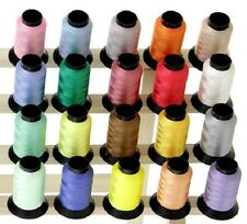 20 Spools Embroidery Machine Thread Kits - 18 Different Sets To Choose From