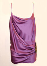 Poleci Draped Silk Cami