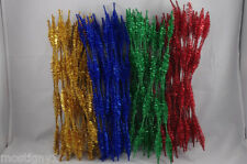 Glitter Tinsel Stems 12in x 15mm (100pc) – Holiday Selections