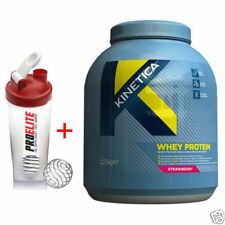 Kinetica Whey Protein 2.27kg + Free Shaker - All Flavours