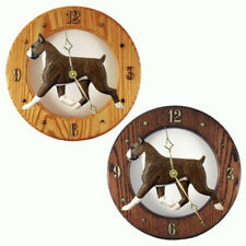 Boxer Oak Wall Clock. In Home, Kitchen, Living Room or Den Products & Gifts.