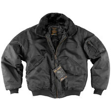 HELIKON CWU SWAT FLIGHT BOMBER FLYER PILOT MENS JACKET COLD WEATHER BLACK S-3XL