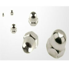 M4 A2 Stainless Steel Hex Head Dome Nuts All Sizes Qty from 10 Nuts to 100 Nuts