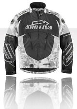 NEW ARCTIVA  COMP 6 RR BLACK CAMO SNOWMOBILE JACKET, S, M, L, XL, 2XL