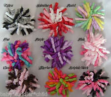 Korker Bow Hair Clip x 1 Baby Girl Toddler
