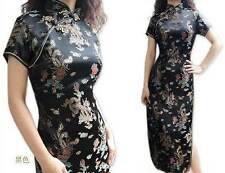 New Chinese Style embroider women's Dress/Cheong-sam sz6-16