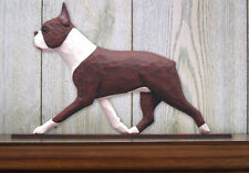 Boston Terrier (Dog in Gait) Topper. In Home Wall or Shelf Products & Gifts.