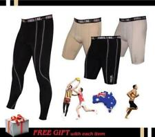 Youths Boys Mens Compression Fireline Running Tights Pants Skins Shorts