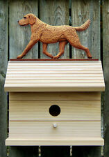 Bird House W/ Chesapeake Bay Retriever on Peak. Home,Yard & Garden Dog Products.