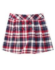 GYMBOREE HOMECOMING KITTY RED PLAID SKORT 3 4 6 7 8 9 NWT